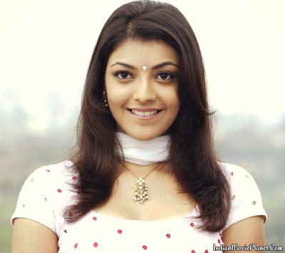 kajal agarwal hot face expression close up images