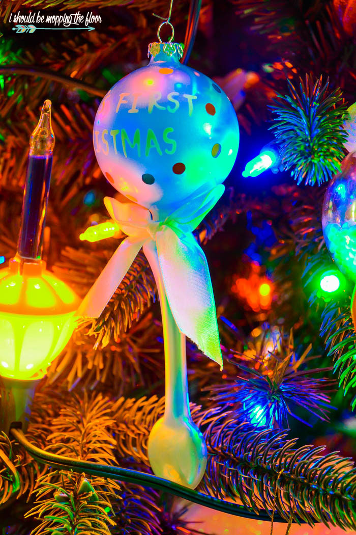 Free Printable Lollipop Ornaments | Print and assemble these whimsical ornaments for your Christmas decor.