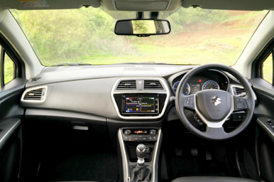Interior Suzuki SX-4 S-Cross Indonesia