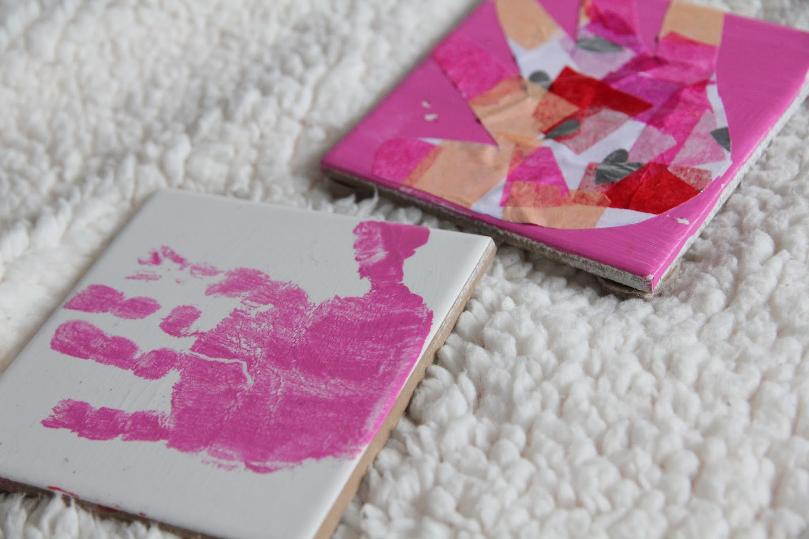 Mother's Day is approaching and I have the perfect handmade gift idea for you and your little one's to create.