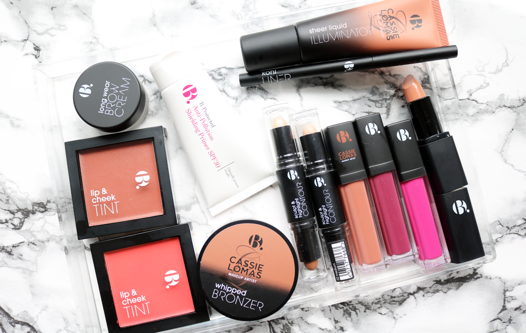 B. Makeup from Superdrug + Cassie Lomas Collection review