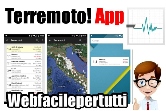 Terremoto! - La Migliore Applicazione Per Il Monitoraggio Dei Terremoti In Tempo Reale