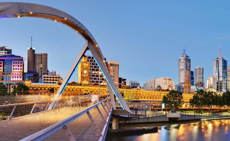 Attractions in Melbourne