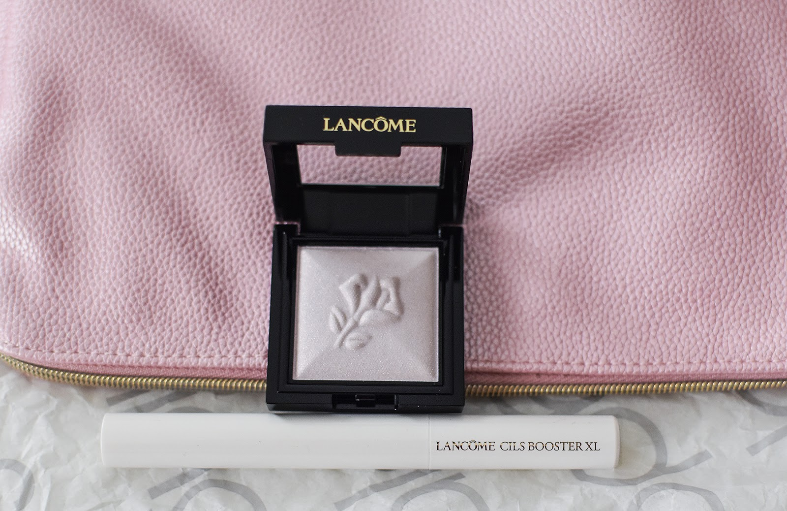 Lancomemakeup,Lancome Le Monochromatique multi-purpose powder  Lancome Cils Booster XL Super-Enhancing Mascara Base