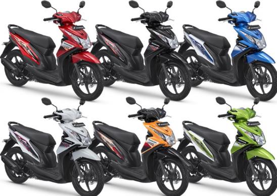 Daftar Harga Motor Matic Honda Terbaru 2016  Beat Scoopy