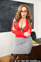 (West) My First Sex Teacher - Richelle Ryan bangs student out after class