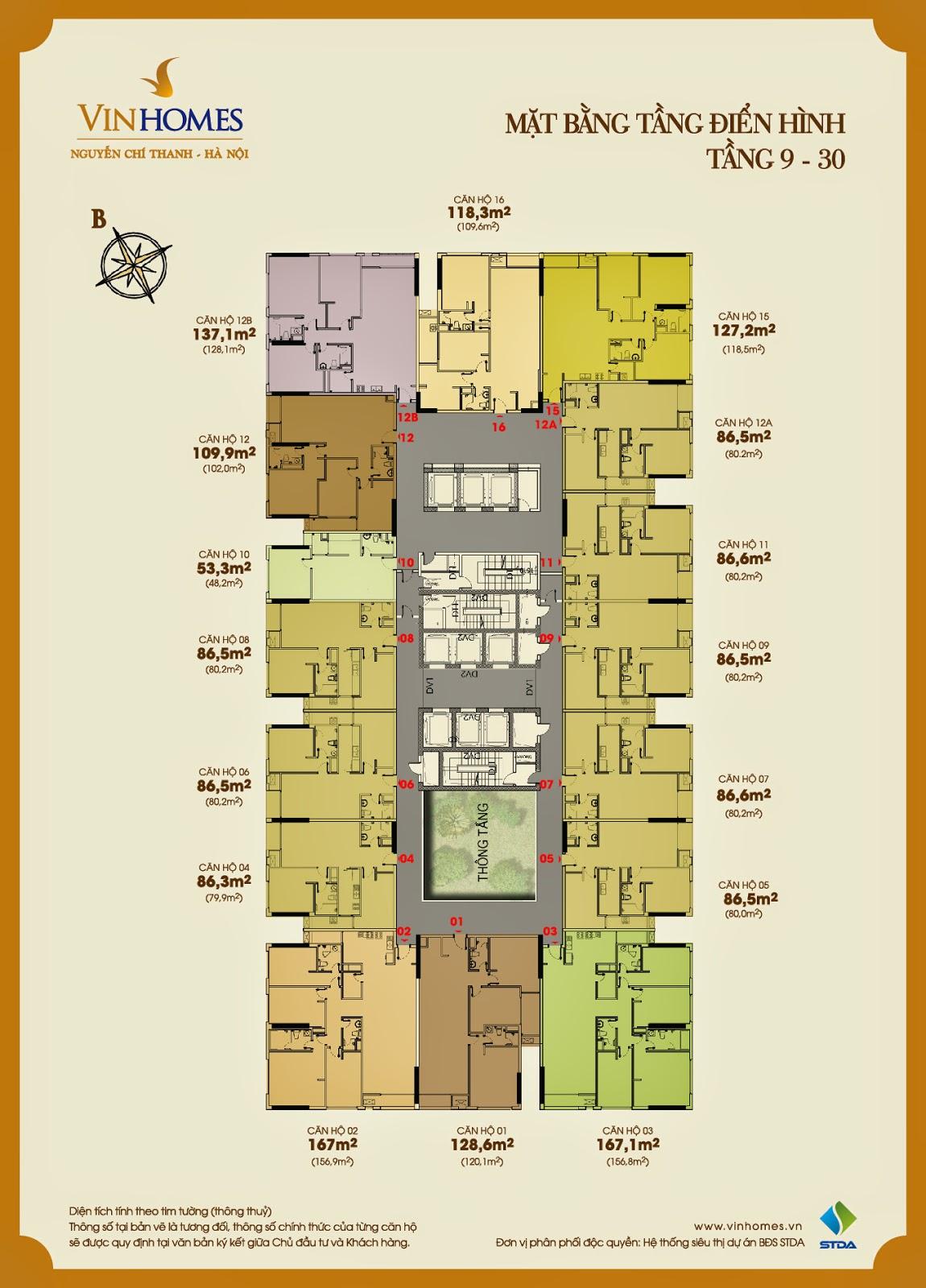 căn hộ VINHOMES NGUYỄN CHÍ THANH