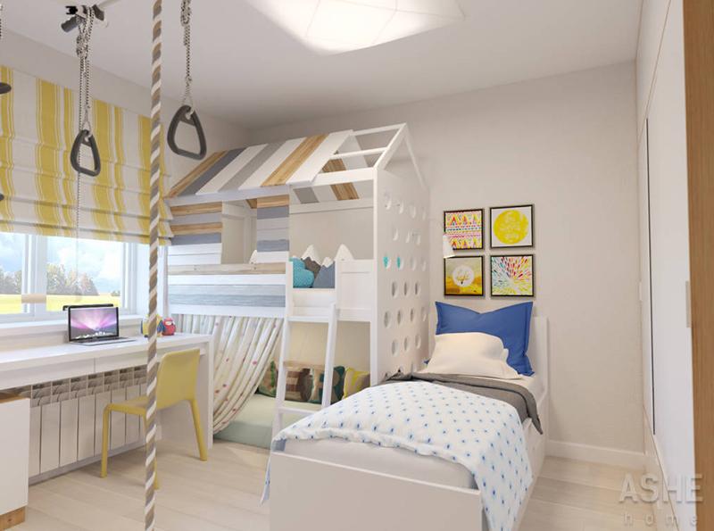 10 dormitorios infantiles sorprendentes decorar en for Deco dormitorios infantiles