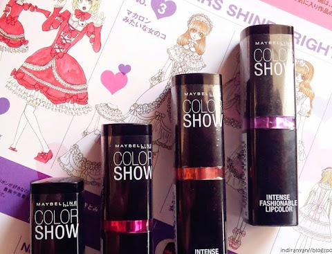 [REVIEW] Maybelline Color Show Lipstick