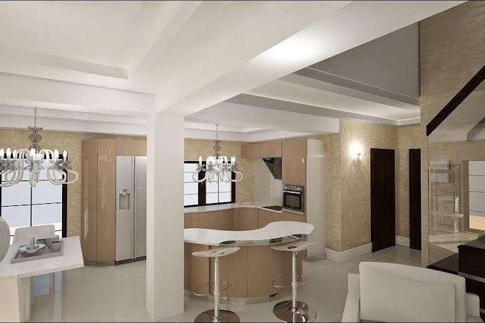 Design Interior Constanta - Design interior living cu bar casa Constanta - Amenajari Interioare