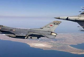 Εικονική αερομαχία ελληνικών - τουρκικών μαχητικών