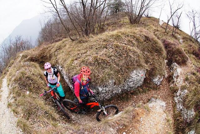 Frühlingsbiketour komplett schneefrei am Gardasee