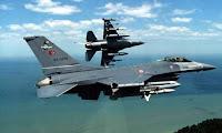 Έξι τουρκικά αεροσκάφη πέταξαν πάνω από την Κίναρο