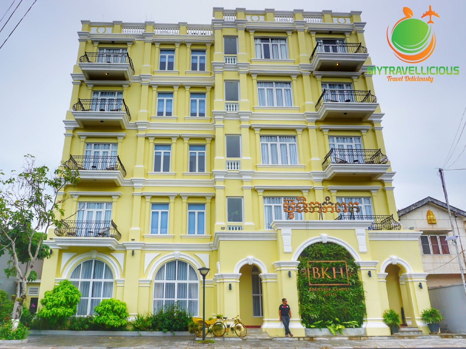 Hotelreview boutique kampot hotel bkh at kampot for My boutique hotel
