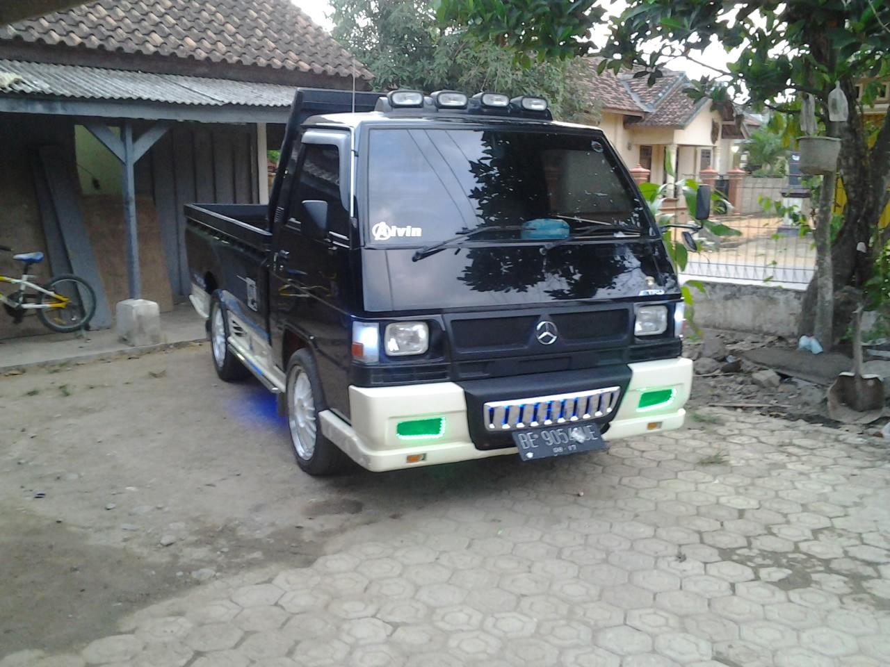30 Ide Top Modif Mobil L300 Minibus