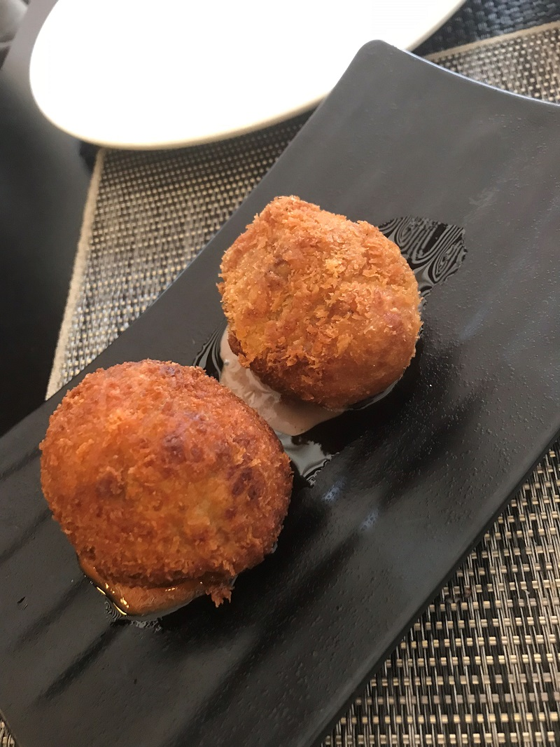 Croquettes at La Tapa in Murcia