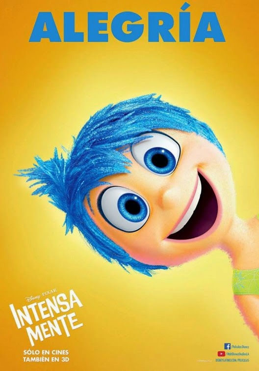 Inside Out New Character poster of Joy : Teaser Trailer