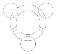 tahapan pembuatan logo ubuntu