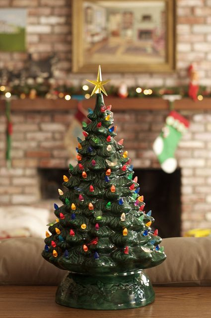 Trending: Vintage Ceramic Christmas Trees - East Meets South