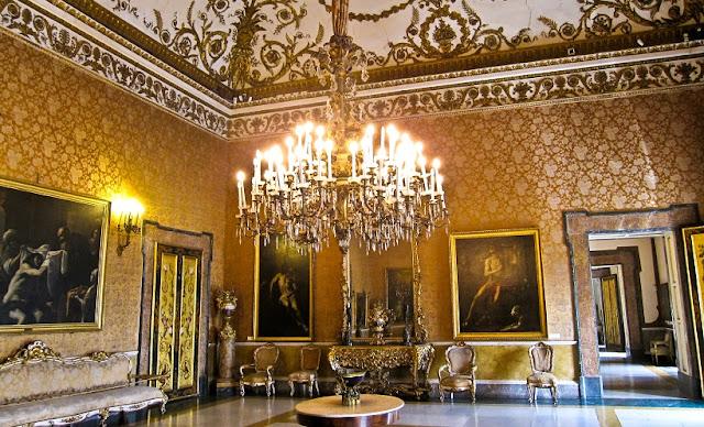 Palácio Real em Nápoles