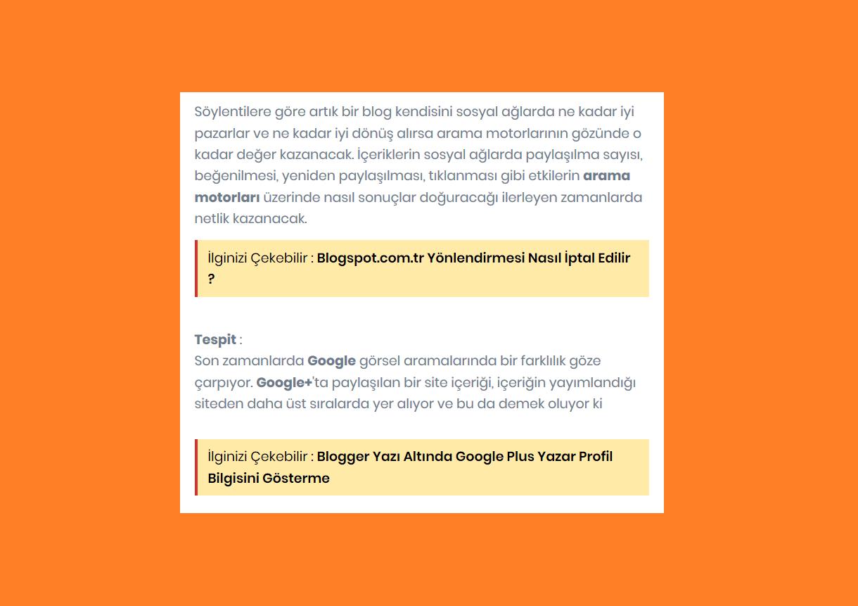 blogger ilgili yazı, ilginizi çekebilir, bunu da okuyabilirsiniz, ayrıca oku eklentisi