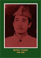 gambar-foto pahlawan nasional indonesia, Bung Tomo-Sutomo