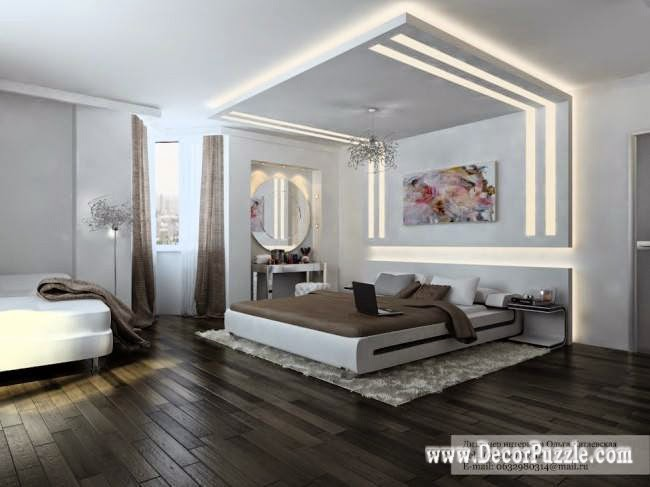 plasterboard ceiling designs for bedroom pop design 2018 with lighting