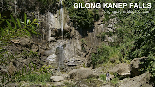 Gilong Kanep Falls (Lower)