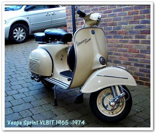 Vespa Sprint 150 Tahun Produksi 1965 -1974