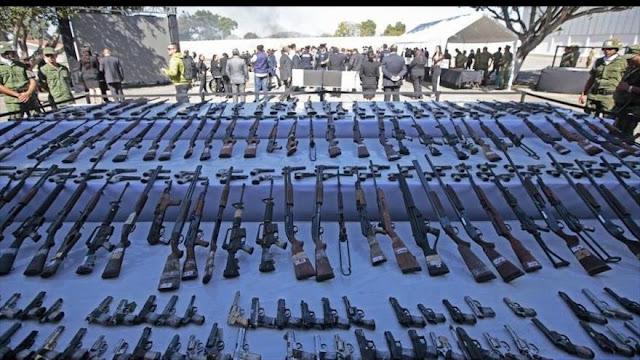 Informe: 100.000 armas estadounidenses alientan crímenes en México