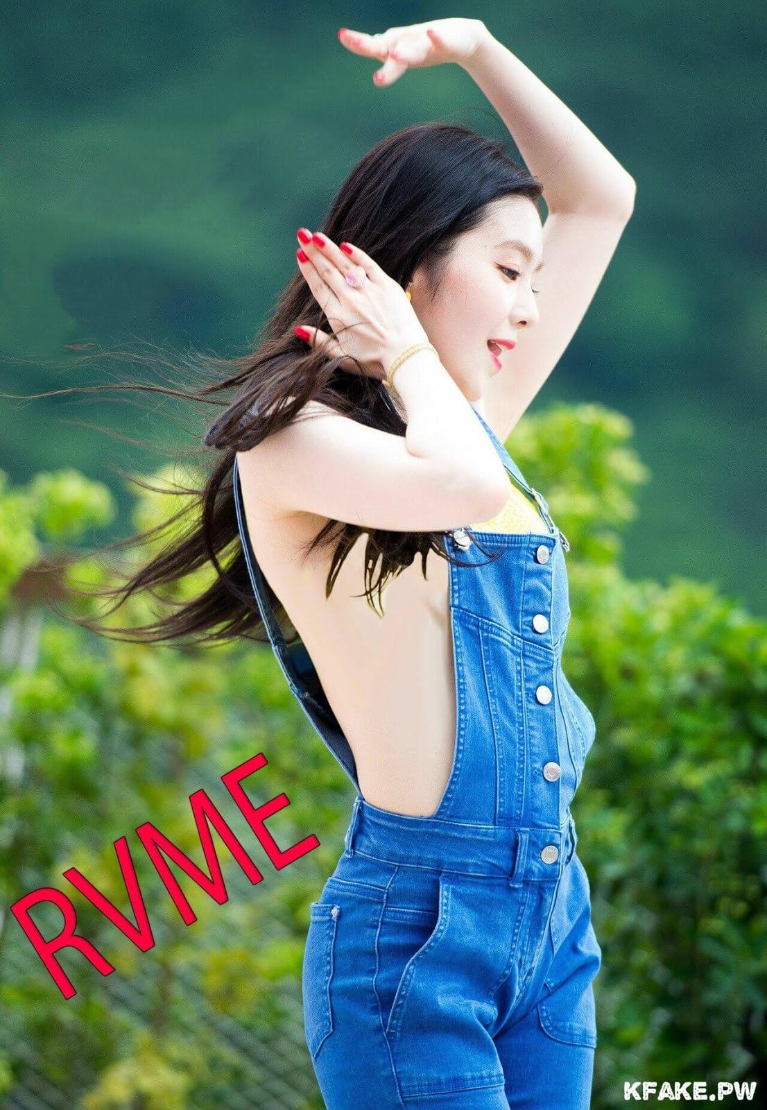 IU #back (Photoshop retouched fake) | Korean beauty girls