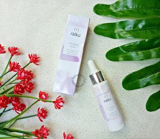 anti aging serum raiku beauty skincare