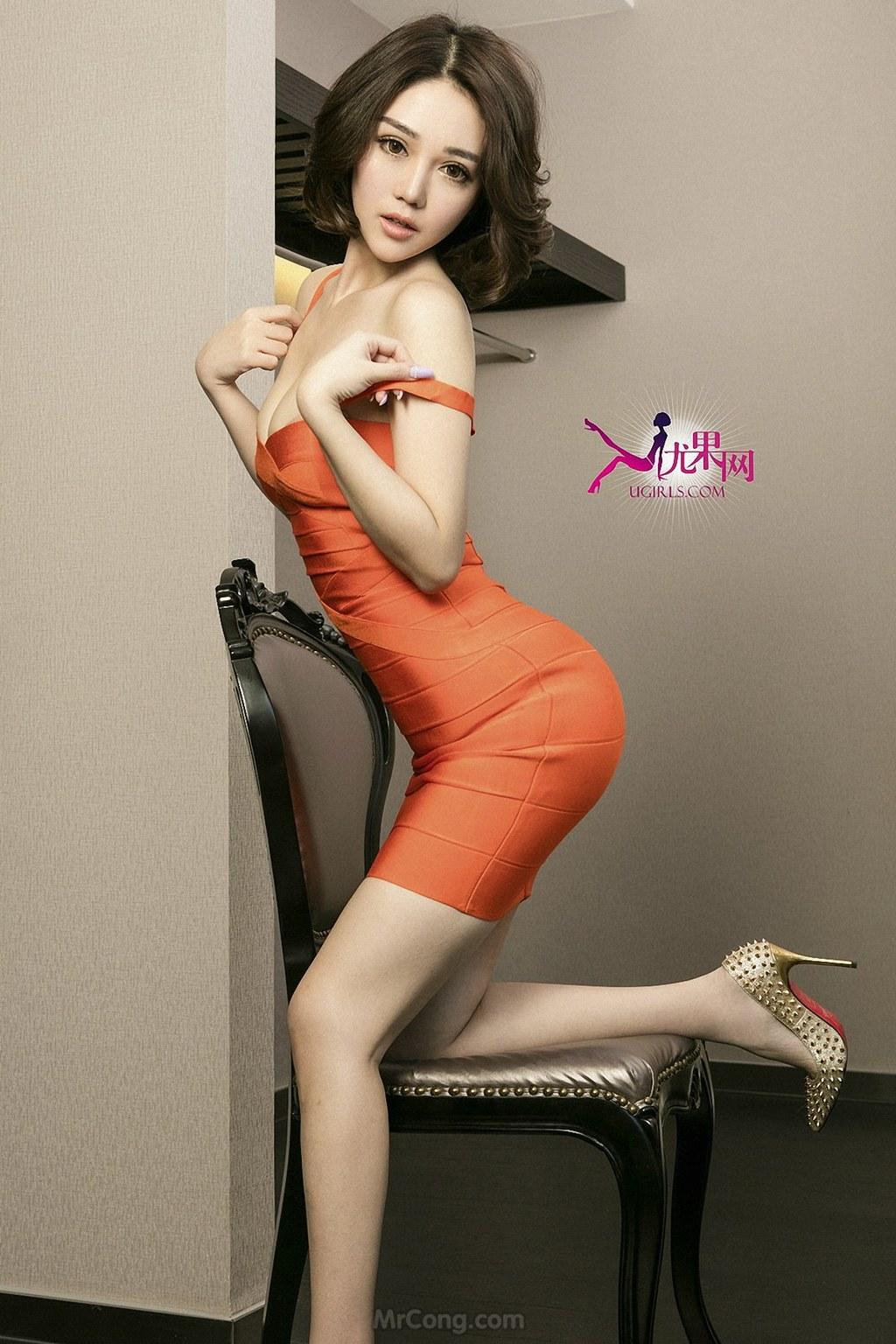 Image MrCong.com-UGIRLS-U146-Wang-Er-Lin-003 in post Mê mẩn với thân hình hoàn hảo của người đẹp Wang Er Lin (王尔琳) trong bộ ảnh UGIRLS 146