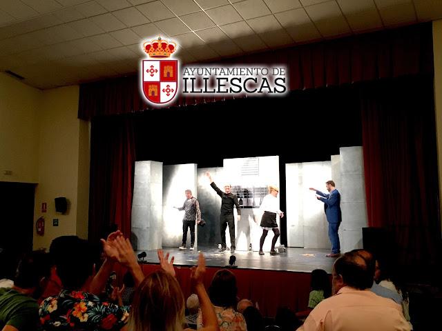 un momento de la representación de Chefs en Illescas