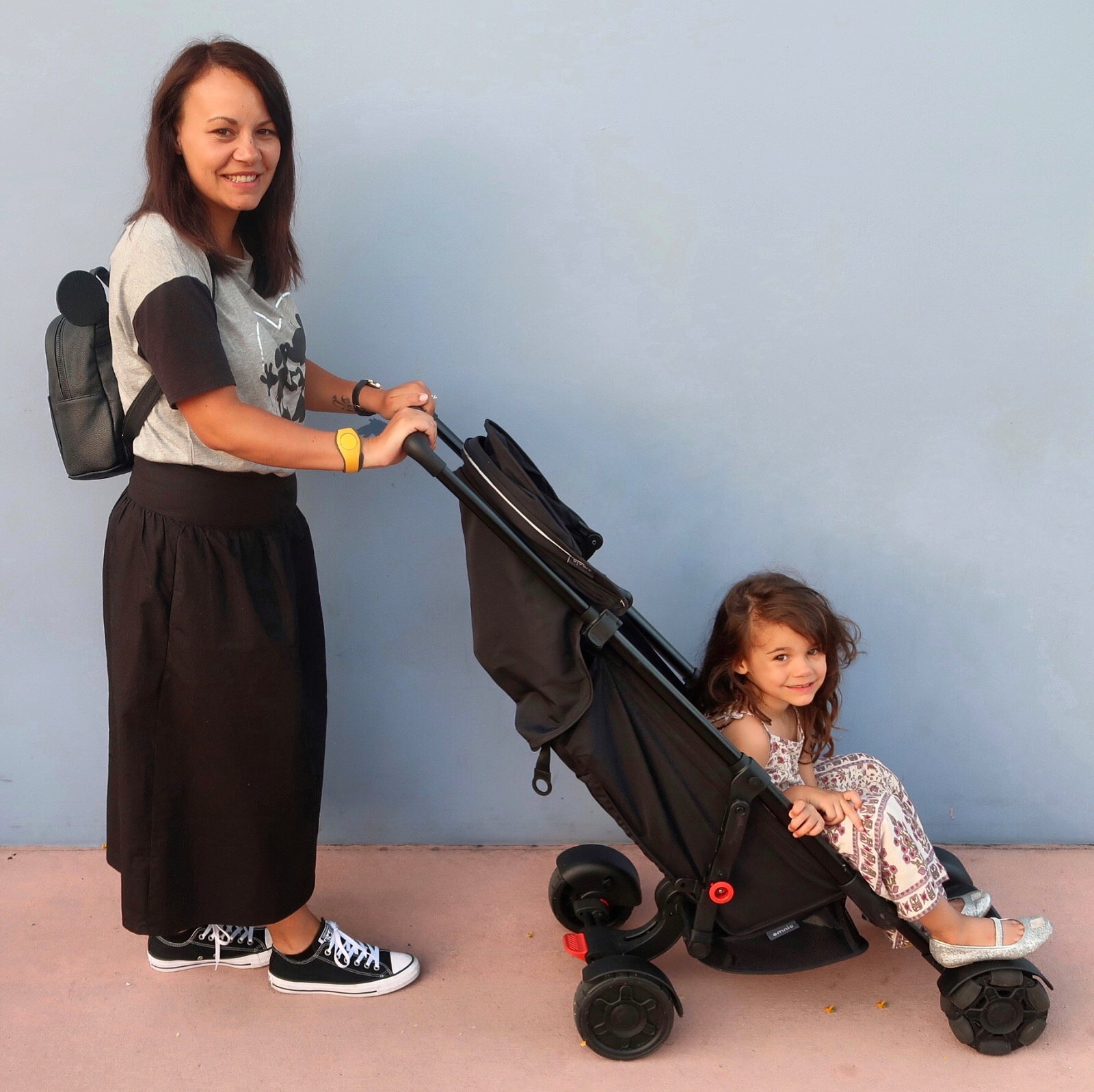 Travelling with the Omnio stroller
