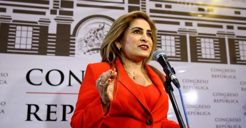 Suspende por 120 días a Congresista Maritza García, por consignar información falsa en su hoja de vida, acerca de sus estudios superiores