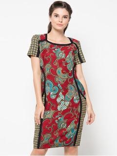 Conto Dress Batik Modern