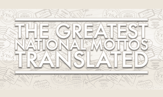 The Greatest National Mottos Translated