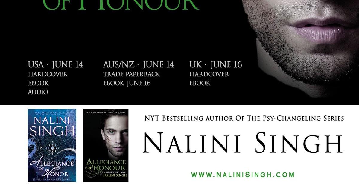 Nalini Singh's Weblog: New Excerpt 1: Allegiance of Honor