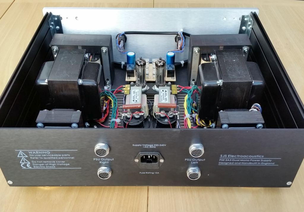 sjs electroacoustics arcadia 7w pse 2a3 power amplifier upgrade. Black Bedroom Furniture Sets. Home Design Ideas