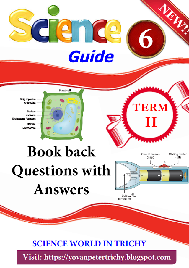 6th Science Guide English Medium 1-7 Lesson Term-2