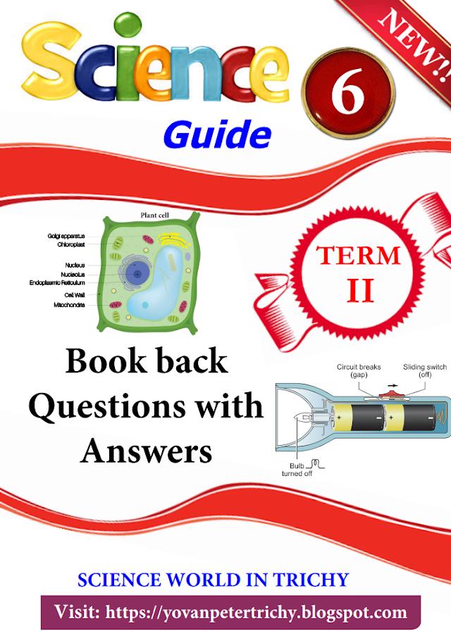 6th Science Guide English Medium 1-7 Lesson Term-2