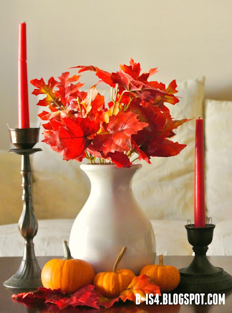 Thanksgiving Table, Autumn Home Decor
