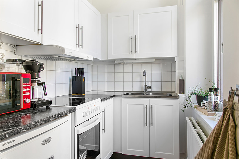 Lar Sempre Lar COZINHAS ESCANDINAVA # Kit Cozinha Pequena
