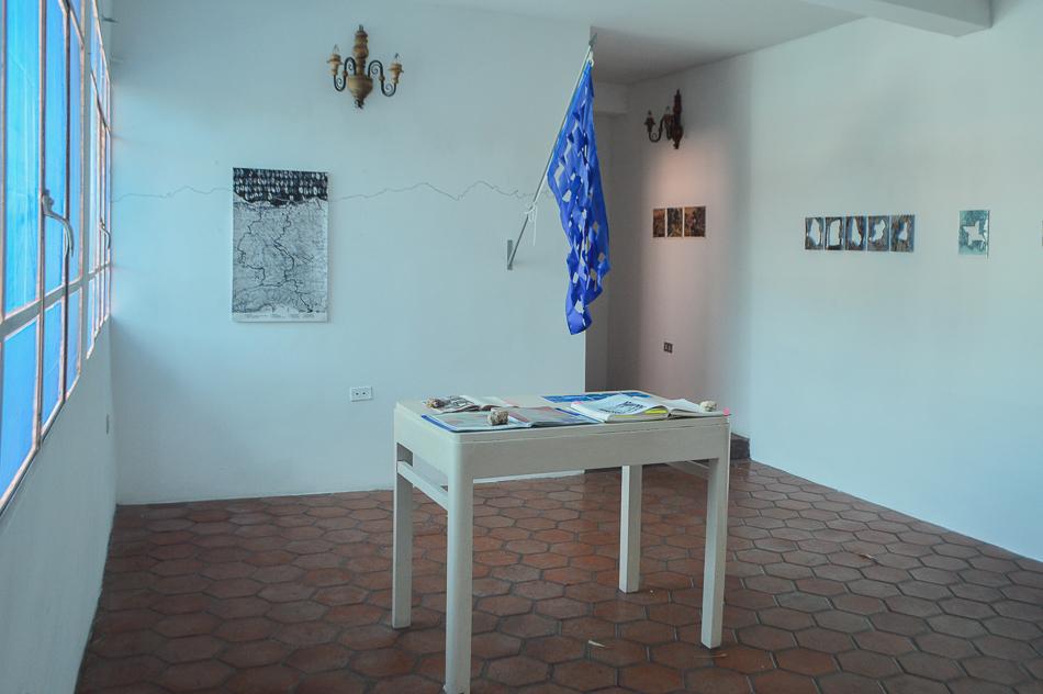 Otra vista de los resultados de la residencia Macolla Creativa