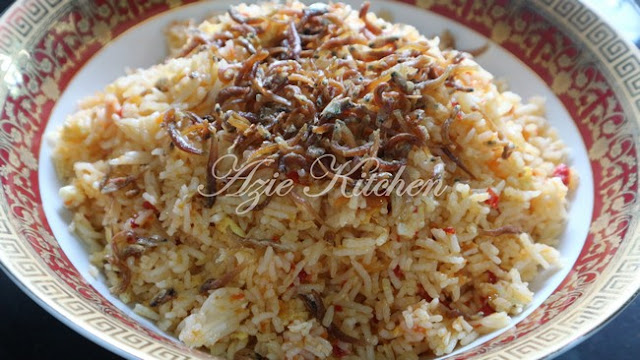 Nasi Goreng Cili Merah Yang Simple Dan Sedap