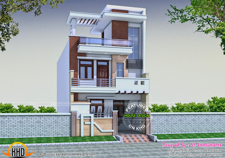 21x45 Modern House Design Facilities Ground Floor