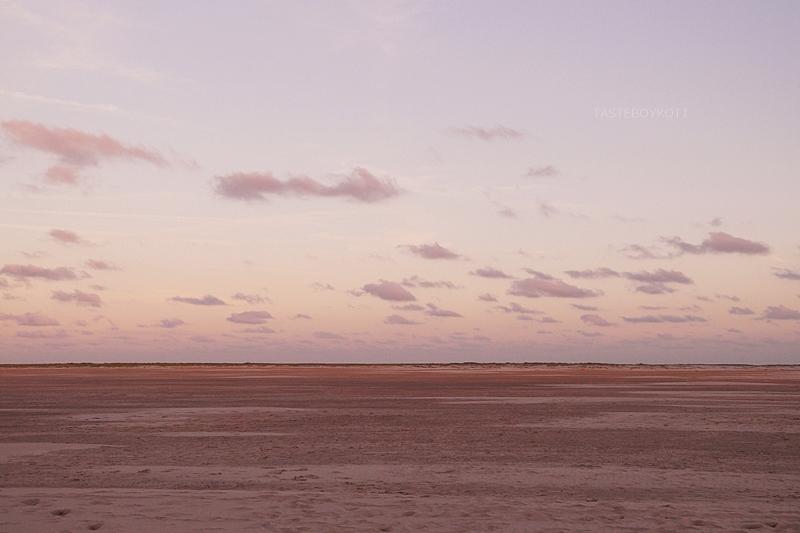 Amrum Wittdün Strand Sonnenuntergang