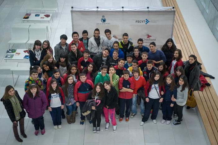 Os Alumnos De 1º E 2º E S O Participaron No Obradoiro Eficientic 2013 Arquimedianos21