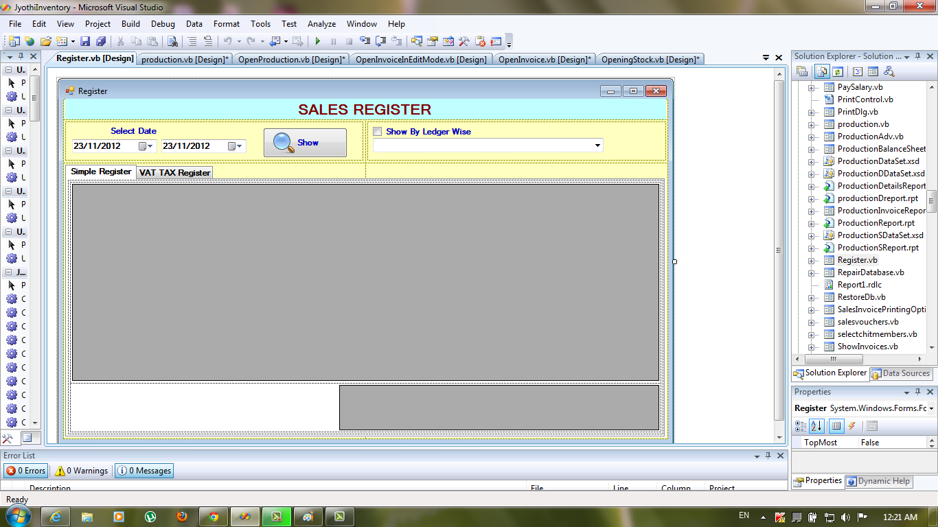 Inventory Management System in VB Net With Full Source Code